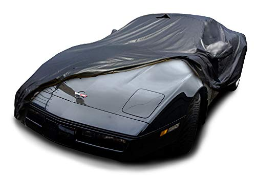 CarsCover Custom Fit C4 1983-1996 Corvette Car Cover Ironshield Leatherette All Weatherproof Waterproof 100% Block Sun, Rain, Dust