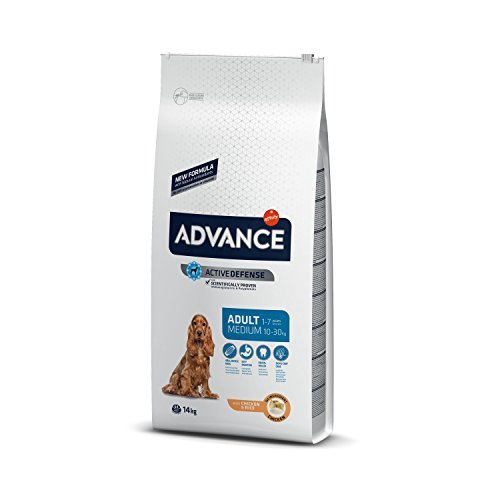 Advance Pienso para Perro Medium Adulto con Pollo - 14000 gr ✅