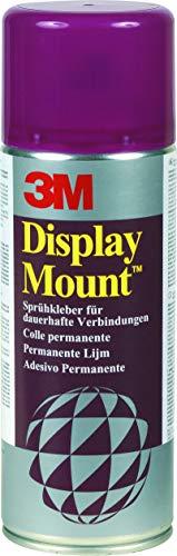 3M DisplayMount - 1 Dose - 400ml - Permanenter Mehrzweck-Sprühklebstoff, ideal für Hochleistungsanwendungen