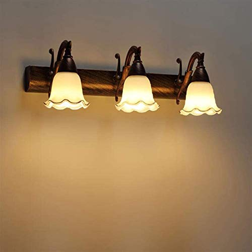 Leifeng Tower Despeje Luz de Espejo LED Faros de Pared lámpara de Pared de Estilo Simple Estilo Impermeable Anti-Niebla óxido de Acero Inoxidable, awarllight, 46x6cm