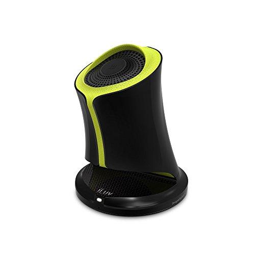 iLUV Syren Bluetooth Lautsprecher mit NFC, schwarz/grün