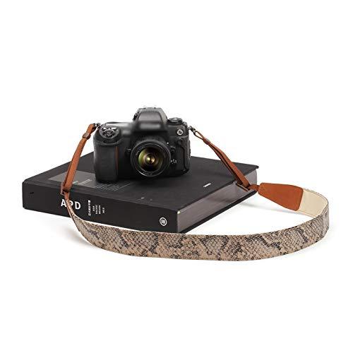 NEHARO Correa de la cámara Micro fotografía de una Sola fotografía Correa de Hombro Tipo Universal Serpiente Estampado Serie SLR Digital Cámara Correa Todas Las cámaras DSLR SLR