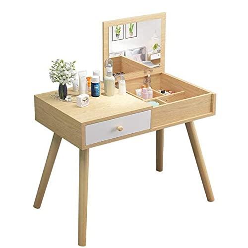 HHTD Dormitorio Pequeño apartamento Mini Mini Mueble Mueble de Almacenamiento Moderno Minimalista Maquillaje Mueble Neto Red Cosmetics