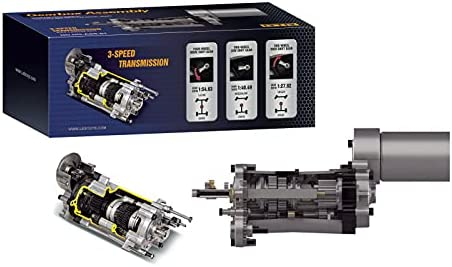 Integy RC Model El Paso Mall C30309 3-Speed Year-end gift Assembly Gearbox Transmission HG-