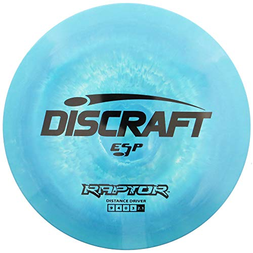 Discraft ESP Raptor Distance Driver Golf Disc [Colors May Vary]