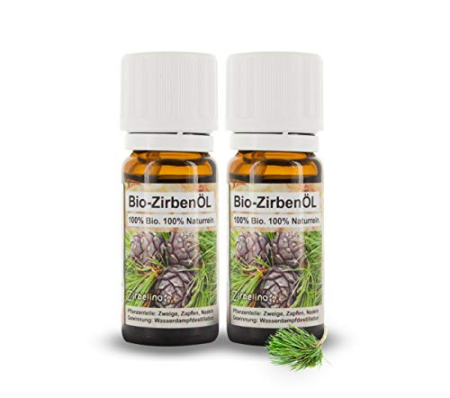 Bio Zirbenöl | Doppelpack: 2x 10ml