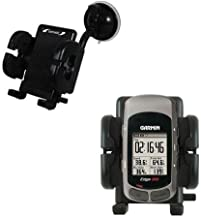 Windshield Mount compatible with Garmin Edge 305 for the Car / Auto - Flexible Suction Cup Cradle Holder for the Vehicle
