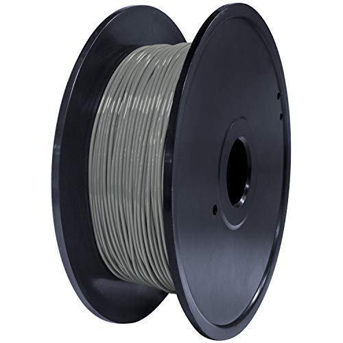 GEEETECH TPU filament 1.75mm Grau, Flexible 3D Drucker Filament 400g 1 Spool
