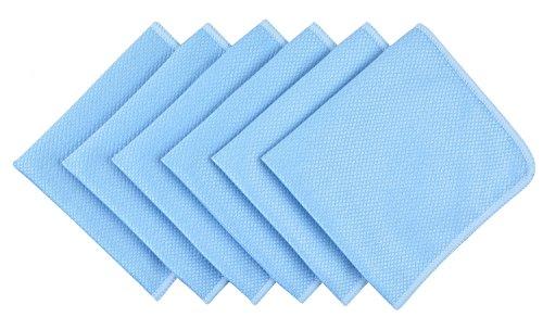 Microvezel vaatdoeken, reinigingsdoeken, keukendoeken, microvezeldoek, ramen poetsen - fijn microvezel raampoetsdoek voor ramen en spiegels - glazen poetsdoeken - microvezel doeken streepvrij