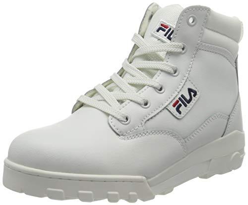 FILA Damen Grunge II L mid wmn Boot, White, 39 EU