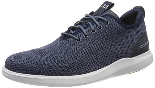 Cole Haan Herren Grand Plus Essex Distance Ox Sneaker, Blau (Vintage Indigo Knit Vintage Indigo Knit), 44 EU