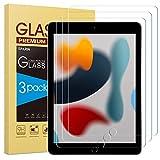 SPARIN Panzerglas kompatibel mit iPad 9. Generation, iPad 8. und 7. Generation, 3 Stück Schutzfolie für iPad 10,2 zoll 2021 2020, Gehärtetem Displayschutzfolie