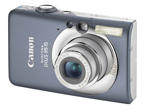 Canon IXUS 95 IS - Cámara Digital Compacta 10 MP
