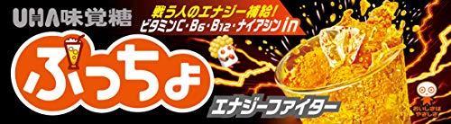 UHA味覚糖 ぷっちょスティック エナジーファイター 10粒 ×10個