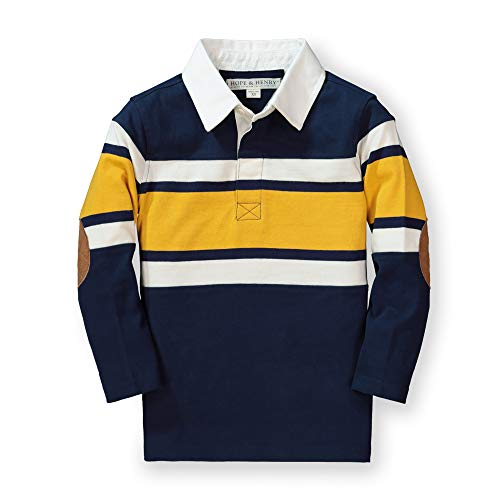 Hope & Henry Boys' Long Sleeve Rugby Shirt