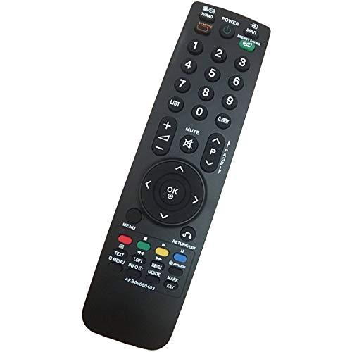 Nuovo Sostitutivo Telecomando TV LG AKB69680403 fit per telecomando lg universale TV 37LF2510 37LH2000 37LH200H 37LH201C 37LH3000 37LH301C 37LH3020 - Nessun Bisogno Di Programmazione