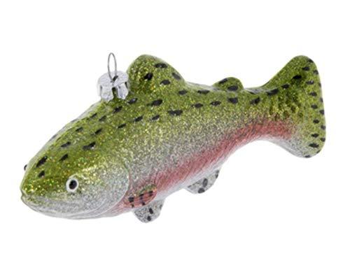 Nikki's Knick Knacks Fishing Lure Glass Christmas Ornament