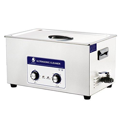 SKYMEN Ultraschallreinigungsgerät 22L Ultraschallreiniger Ultraschall reinigung Metallteile Auto Zubehör Vergaser Spritzgussform,Edelstahl Ultraschallbad mit Heizungs-und Zeiteinstellungsfunktion