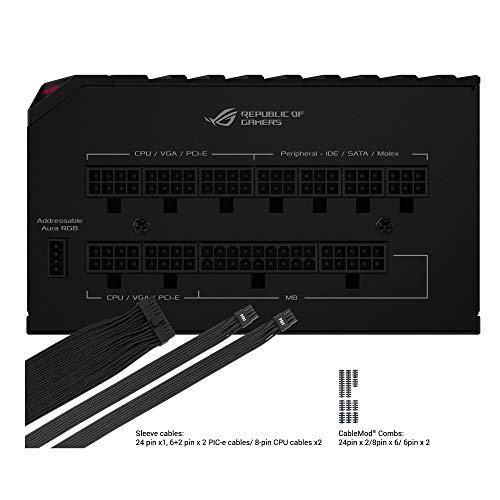 ASUSROGThor850WPlatinum電源ユニットROG-THOR-850P