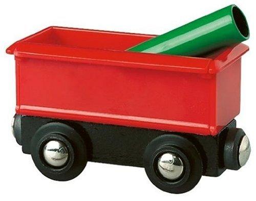 Brio - Wagon et chargement - pour Circuit de train en bois - collectionneur