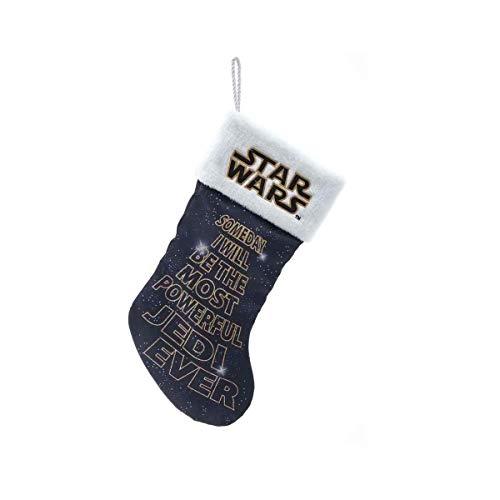 Kurt Adler SW7204 Star Wars Future Jedi Printed Stocking, 19-inch High