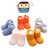 Sweetneed 5 Pares Calcetines Recien Nacido niño Calcetines de recién nacido...