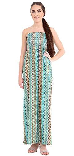 Momo&Ayat Fashions - Maxi abito da donna con stampa floreale Multi Mizzoni 52-54