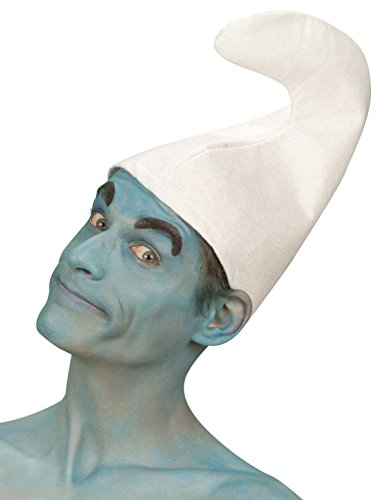 Chapeau de nain blanc - Taille Unique