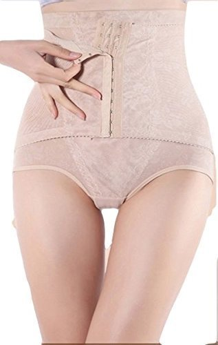 Modelant Slip Slip Culotte Femmes Ventre Plat Culotte 3 Styles - Couleur Chair, XXL taille haute avec crochets supplémentaires