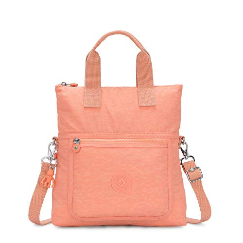Kipling Eleva Handbag, peachy coral
