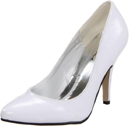 Ellie Shoes Women's 8400, White Patent, 13 M US