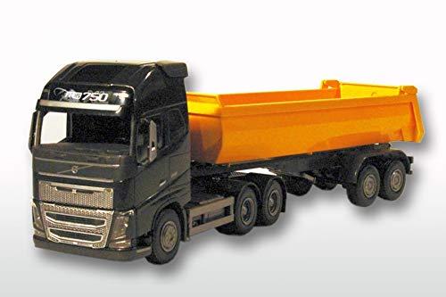 Emek - EM22359 - Volvo FH3 3ejes/2ejes 1:25, amarillo/negro