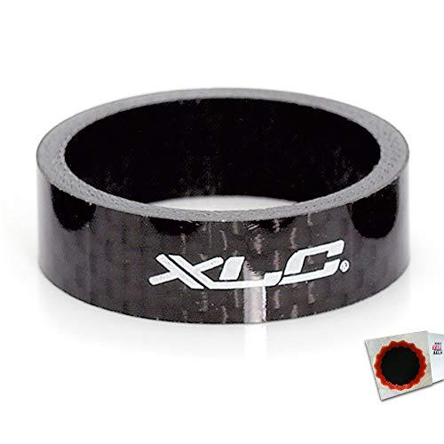 XLC A-Head Spacer 10mm 1Zoll Carbon schwarz + SCHLAUCHFLICKEN