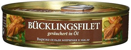 Dovgan Bücklingsrücken - Filet in Öl Riga Smokets (1 x 160 g)