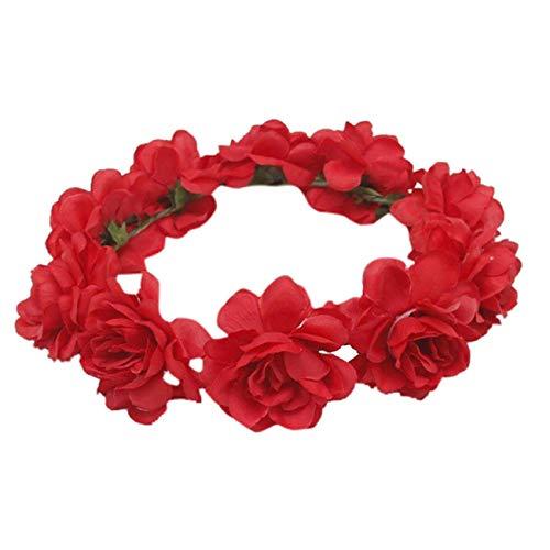 Accessoire de d/éguisement Coucoland Broche /à cheveux en forme de rose Accessoire de d/éguisement de flamenco Pour mari/ée