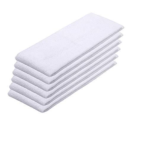 DEYF 6 Stueck Kärcher Tuchset 6.369-481.0 Dampfreiniger Handtuchbezug Tücher Mop Putztücher für Kärcher SC1 SC2 SC3