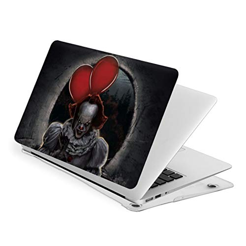Pennywise Horror MacBook Laptop Case Laptop Hard Shell Case with Hard Shell Case + Cleaning Brush Water-Proof Dustproof Anti-Scratch Not Deformed PVC Protective Shell Suitable