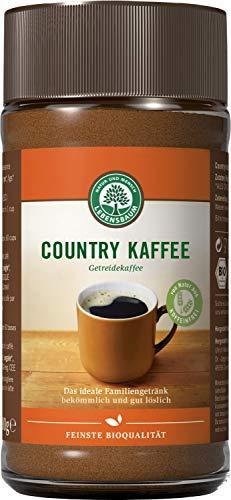 Lebensbaum Country Kaffee - Ersatzkaffee, 3er Pack (3 x 100 g)