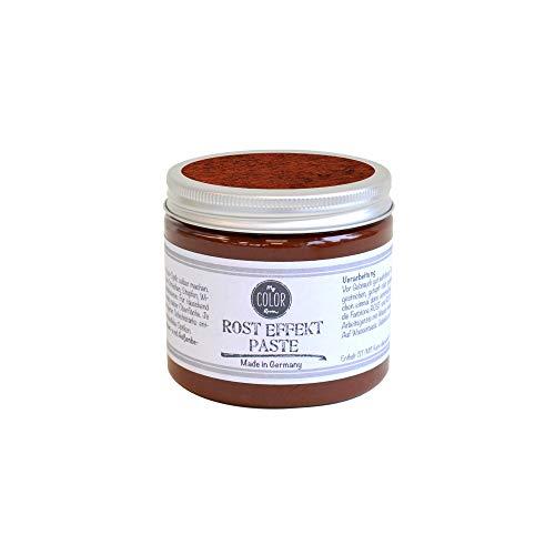 My COLOR Room®️ Rost-Effekt (Rost - 190 ml) Rost Paste für Industrial Deko - wetterfeste bastel Rosteffekt Farbe für Rost Deko Innen und Außen