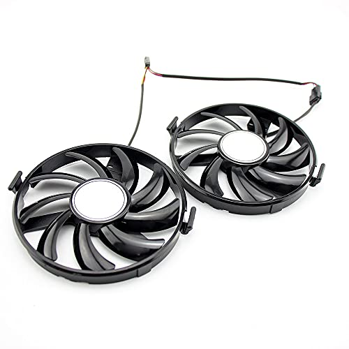 iHaospace Replacement Graphics Card Fan for XFX R7 350/360 R9 380 R9 370X...