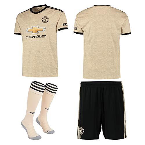 Maglia da Calcio Personalizzata New Season Kits T Shirt Pantaloncini 2019-2020 (casa e fuori) Bambini Uomo Calcio Adulto Tute Sportive Set Club Squadra Personalizzato Nome e Numero (Invia calze)