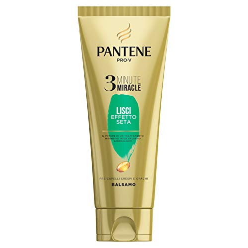 Pantene Pro-V Balsamo 3 Minute Miracle, Lisci Effetto Seta, 150ml