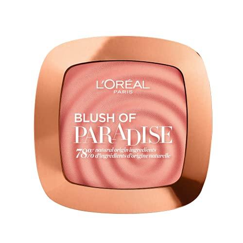 L'Oréal Paris Blush Illuminante Viso in Polvere, si Adatta a Ogni Incarnato, Infuso con Fragranza di Melone e Anguria