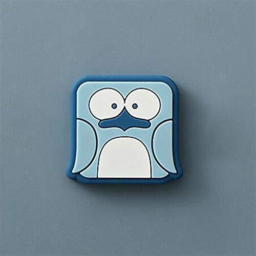 Imanes de Nevera Lindo imán de animales para refrigerador Pasta Notas de oficina personalizada creativa encantadora decoración de la pared imán de la pared Imanes para Refrigerador ( Color : B )