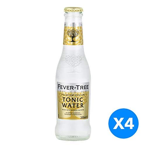 Fever-Tree Tonic Water Premium Indian - Les 4 bouteilles de 20cl