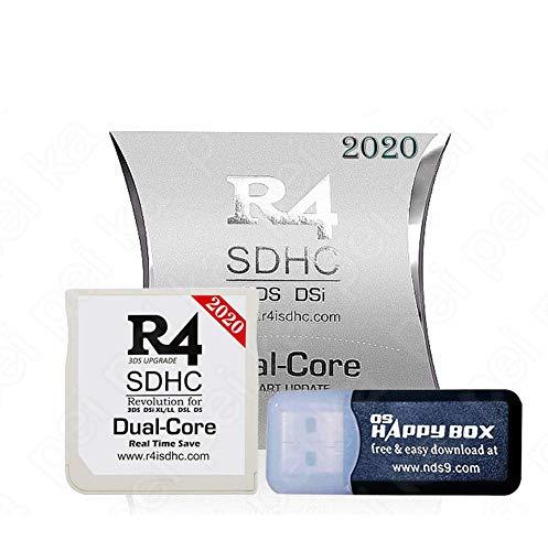 KYK SHOW The White Dual-Core-SDHC-Karte Mit 32 GB SD-Karte für DS/DS Lite/DSi/DSi XL / 3DS / 2DS - Kernel bereits installiert