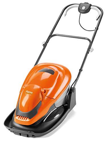 Flymo 970483462 Leichter elektrischer Luftkissenrasenmäher mit, 1700 W, orange