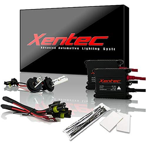 Xentec H7 10000K HID xenon bulb x 1 pair bundle with 2 x 35W Digital Slim Ballast (Ocean Blue)