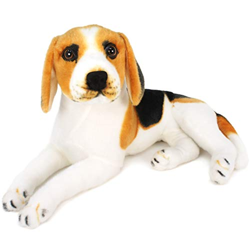 VIAHART Brittany The Beagle   17 Inch Large Beagle Dog Stuffed Animal Plush   by Tiger Tale Toys -  854857003864