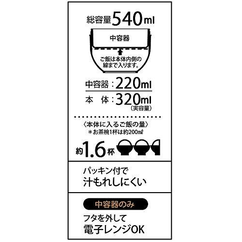 スケーター保冷保温弁当箱丼型ランチジャー540mlくまのプーさんディズニーLDNC6